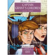 Graded Readers - Captain Grant's Children - level 4 reader PACK including : Reader , Activity book and Audio CD ( editura : MM Publications , autor : Jules Verne , ISBN 978-960-379-473-8 )