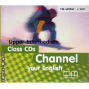 Channel your English Upper - Intermediate - Class CDs ( editura : MM Publications , ISBN 978-960-379-233-8 )