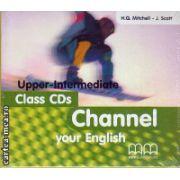Channel your English Upper - Intermediate - Class CDs ( editura : MM Publications , ISBN 9789603792338 )