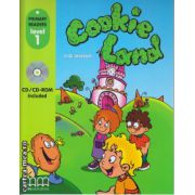 Primary Readers - Cookie Land - Level 1 reader with CD ( editura : MM Publications , autor : H.Q. Mitchell , ISBN 978-960-443-010-9 )
