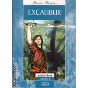 Graded Readers - Excalibur - Activity book - level 3 reader ( editura: MM Publications, ISBN 9789604780372 )