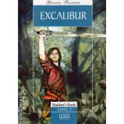 Graded Readers - Excalibur - level 3 reader PACK including : Reader , Activity book and Audio CD ( editura : MM Publications , ISBN 978-960-443-054-3 )