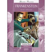 Graded readers - Frankenstein - Activity book - level 4 reader ( editura: MM Publications, autor: Mary Shelley, ISBN 978-960-478-578-0 )