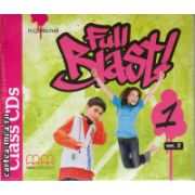 Full Blast 1 Class CDs ( editura : MM Publications , autor : H.Q. Mitchell , ISBN 978-960-478-215-4 )