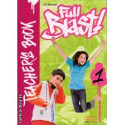 Full Blast 1 - Teacher's book ( editura : MM Publications , autor : H.Q. Mitchell , ISBN 978-960-443-880-8 )