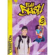 Full Blast 3 Class CDs ( editura : MM Publications , autor : H.Q. Mitchell , ISBN 9789604439003 )