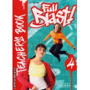 Full Blast 4 - Teacher's book ( editura : MM Publications , autor : H.Q. Mitchell , ISBN 978-960-443-904-1 )