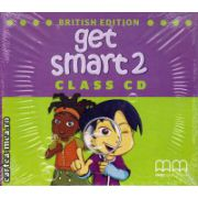 Get Smart 2 Class CDs ( editura : MM Publications , autor : H.Q. Mitchell , ISBN 978-960-478-866-8 )