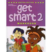 Get smart 2 workbook with CD ( editura : MM Publications , autor : H.Q.Mitchell , Marileni Malkogianni , ISBN 978-960-478-845-3 )