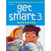 Get Smart 3 Workbook with CD ( editura : MM Publications , autor : H.Q. Mitchell , Marileni Malkogianni , ISBN 978-960-478-848-4 )