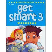 Get Smart 3 Workbook with CD ( editura : MM Publications , autor : H.Q. Mitchell , Marileni Malkogianni , ISBN 9789604788484 )