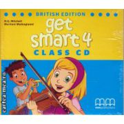 Get Smart 4 Class CDs ( editura : MM Publications , autor : H.Q. Mitchell , ISBN 978-960-478-868-2 )