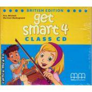 Get Smart 4 Class CDs ( editura : MM Publications , autor : H.Q. Mitchell , ISBN 978-960-478-868-2 )