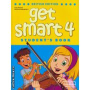 Get Smart 4 Student ' s Book ( editura : MM Publications , autor : H.Q. Mitchell , Marileni Malkogianni , ISBN 978-960-478-850-7 )