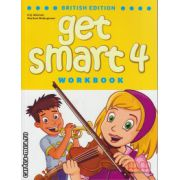 Get Smart 4 Workbook with CD ( editura : MM Publications , autor : H.Q. Mitchell , Marileni Malkogianni , ISBN 978-960-478-851-4 )