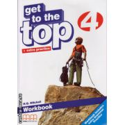 Get to the Top 4 - Workbook with CD ( editura : MM Publications , autor : H.Q. Mitchell , ISBN 978-960-478-282-6 )
