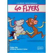 Go Flyers Class CDs ( editura : MM Publications , autor : H.Q. Mitchell , ISBN 978-960-509-455-3 )