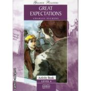 Graded Readers - Great Expectations: Activity book - level 4 reader ( editura: MM Publications, autor: Charles Dickens, ISBN 978-960-478-204-8 )