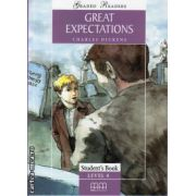Graded Readers - Great Expectations - level 4 reader PACK including : Reader , Activity book and Audio CD ( editura : MM Publications , autor : Charles Dickens , ISBN 978-960-379-481-3 )