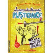 Insemnarile unei pustoaice nr.7 - Povestirile unei Dive TV nu chiar atat de stralucite ( editura : Arthur , autor : Rachel Renee Russell , ISBN 978-606-8620-13-8 )