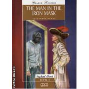 Graded Readers - The Man in the Iron Mask - level 5 reader PACK including : Reader , Activity book and Audio CD ( editura : MM Publications , autor : Alexandre Dumas , ISBN 978-960-443-161-8 )