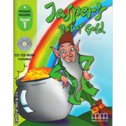 Primary Readers - Jasper's pot of gold - Level 1 reader with CD ( editura : MM Publications , autor : H.Q. Mitchell , ISBN 978-960-443-012-3 )