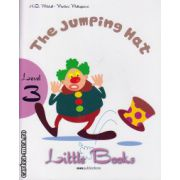 Little Books - The Jumping Hat - level 3 reader with CD ( editura : MM Publications , autor : H.Q. Mitchell , Marileni Malkogianni , ISBN 978-960-478-393-9 )