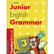 Junior English Grammar 3 - Teacher's book ( editura : MM Publications , autor : H.Q. Mitchell , ISBN 960-379-355-8 )