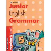 Junior English Grammar 5 - Teacher's book ( editura : MM Publications , autor : H.Q. Mitchell , ISBN 960-379-357-4 )
