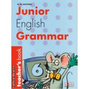 Junior English Grammar 6 - Teacher's book ( editura : MM Publications , autor : H.Q. Mitchell , ISBN 960-379-358-2 )