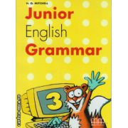Junior English Grammar 3 ( editura : MM Publications , autor : H.Q. Mitchell , ISBN 978-960-379-319-9 )