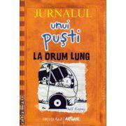 Jurnalul unui pusti nr. 9 - La drum lung ( editura : Arthur , autor : Jeff Kinney , ISBN 978-606-8620-04-6 )