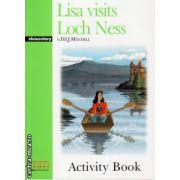 Graded Readers - Lisa visits Loch Ness - Elementary - Activity book ( editura: MM Publications, autor: H. Q. Mitchell, ISBN 978-960-509-834-6 )