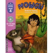 Primary Readers - Mowgli - Level 4 reader with CD ( editura : MM Publications , autor : Rudyard Kipling , ISBN 978-960-443-002-4 )