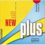 New Plus Beginners Class CD ( editura : MM Publications , autor : H.Q. Mitchell , ISBN 978-960-379-986-3 )