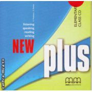 New Plus Elementary Class CD ( editura : MM Publications , autor : H.Q. Mitchell , ISBN 978-960-379-985-6 )