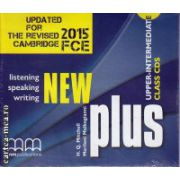 New Plus Upper - Intermediate Class CDs ( editura : MM Publications , autor : H.Q. Mitchell , ISBN 978-960-573-166-3 )
