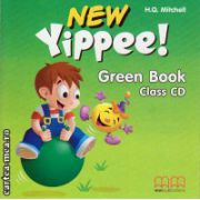 New Yippee! Green Book Class CD ( editura : MM Publications , autor : H.Q. Mitchell , ISBN 978-960-478-275-8 )