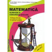 Matematica olimpiade si concursuri scolare clasa a VII a ( Editura : Nomina , Autor : Nicolae Grigore ISBN 978-606-535-359-6 )