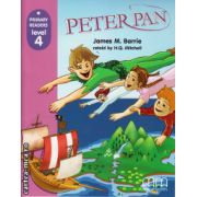 Primary Readers - Peter Pan - Level 4 reader ( editura: MM Publications, autor: James M. Barrie, ISBN 978-960-443-434-3 )