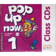 Pop up now 1 Class CDs ( editura : MM Publications , autor : H.Q. Mitchell , ISBN 978-960-443-874-7 )