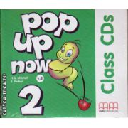 Pop up now 2 Class CDs ( editura : MM Publications , autor : H.Q. Mitchell , ISBN 978-960-443-875-4 )