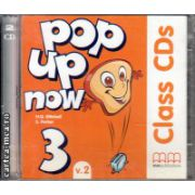 Pop up now 3 Class CDs ( editura : MM Publications , autor : H.Q. Mitchell , ISBN 978-960-443-876-1 )