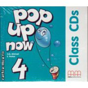 Pop up now 4 Class CDs ( editura : MM Publications , ISBN 978-960-379-991-7 )