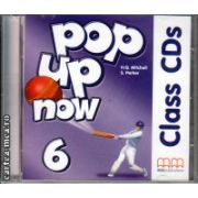Pop up now 6 Class CDs ( editura : MM Publications , autor : H.Q. Mitchell , ISBN 978-960-443-016-1 )