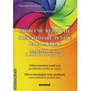 Probleme rezolvate pregatitoare pentru Bacalaureat  - Matematica M2 clasele a XI-a si a XII-a ( editura : Sitech , autor : Gheorghe Necsuleu , ISBN 978-606-11-2156-4 )