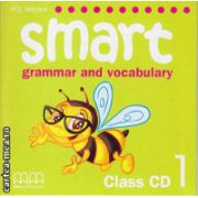Smart 1 grammar and vocabulary - Class CD ( editura : MM Publications , autor : H.Q. Mitchell , ISBN 978-960-443-252-3 )