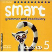 Smart 5 grammar and vocabulary - Class CD ( editura : MM Publications , autor : H.Q. Mitchell , ISBN 978-960-443-496-1 )