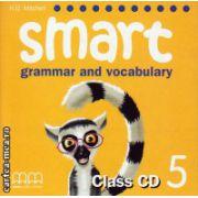 Smart 5 grammar and vocabulary - Class CD ( editura : MM Publications , autor : H.Q. Mitchell , ISBN 9789604434961 )