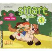 Smart Junior 1 Class CDs ( editura : MM Publications , autor : H.Q. Mitchell , ISBN 978-960-443-816-7 )